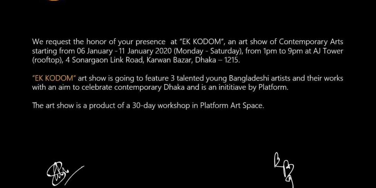 EK KODOM - A Contemporary Art Show