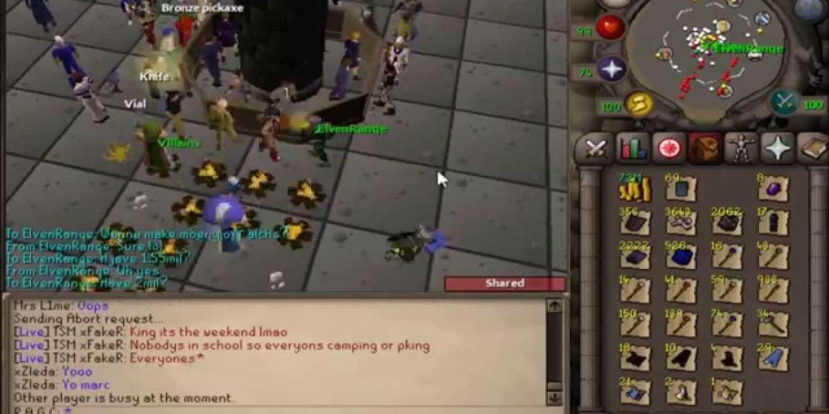 Old School Runescape has changed a lot on Vanguard and Xeric Chambers