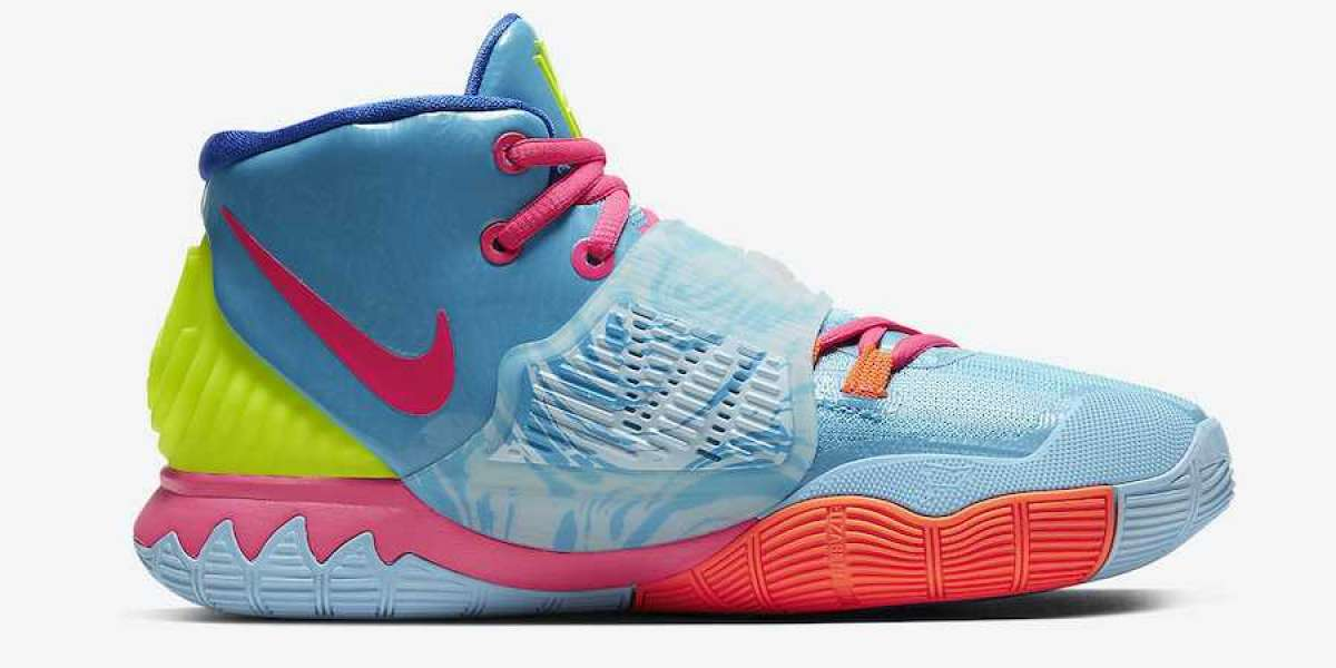 CZ4686-409 Nike Kyrie 6 Pool Will Release Soon