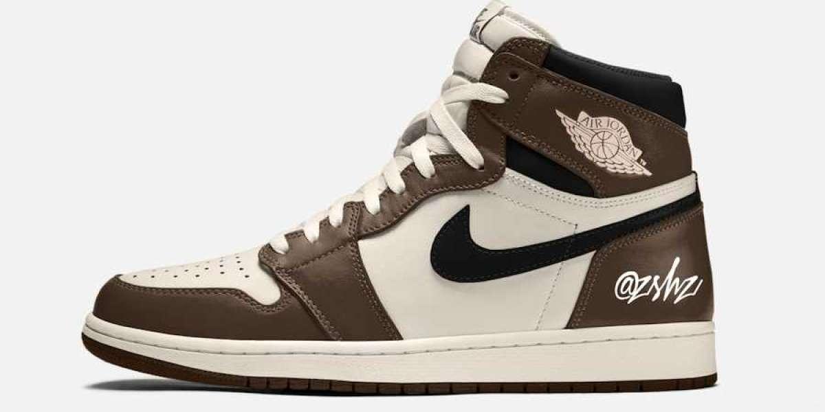 """555088-120 Air Jordan 1 High OG """"Dark Mocha"""" Basketball Shoes"""