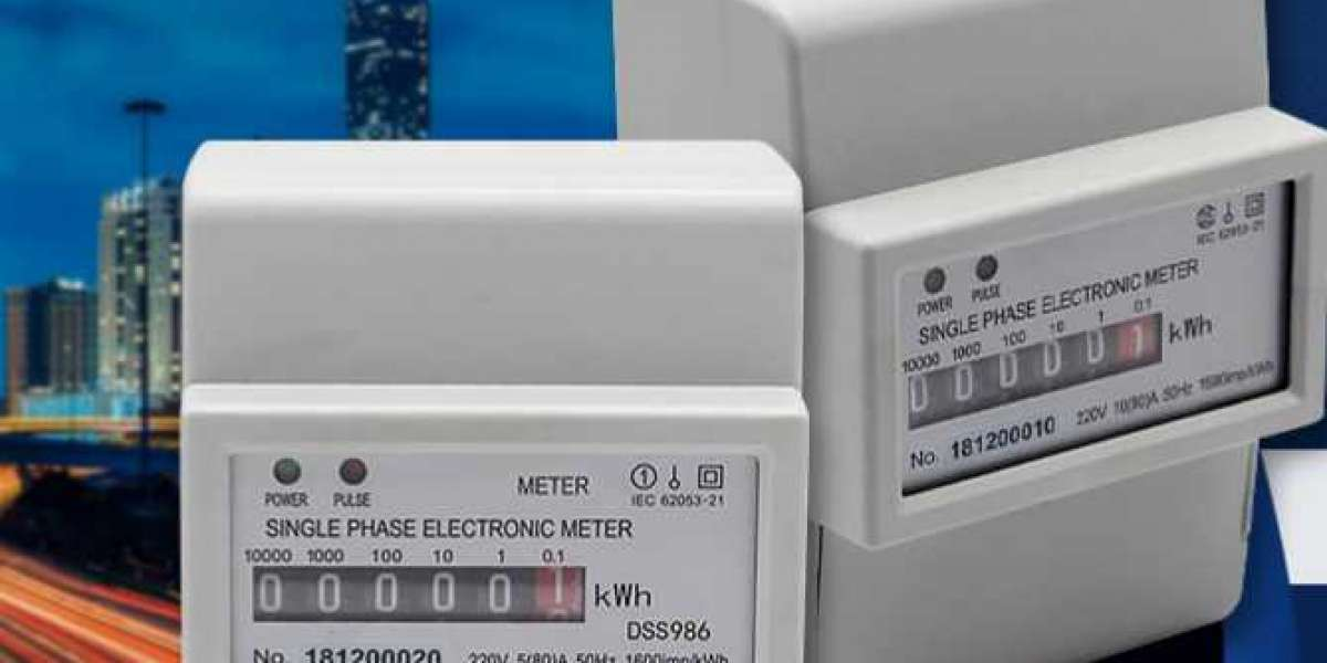 Step-By-Step Instructions For Electronic Energy  Meter Verification