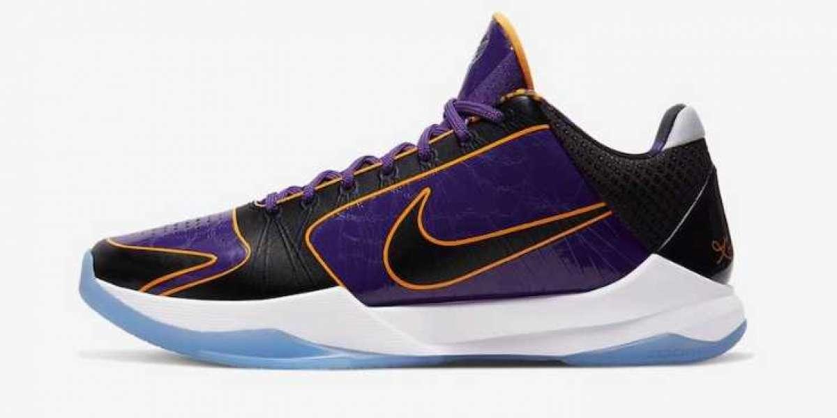 Onlie Sale New Release Nike Kobe 5 Protro Lakers